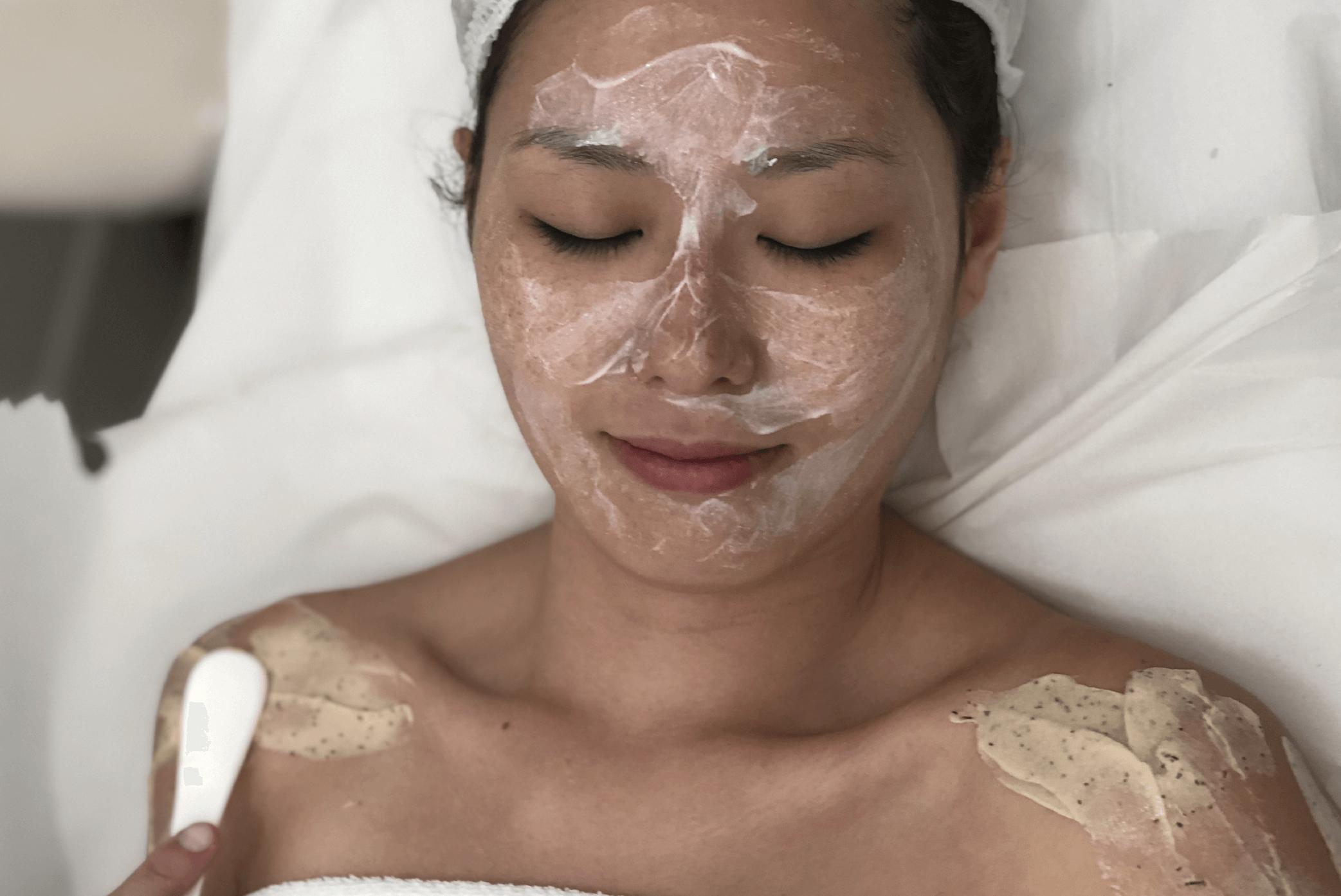 tratamento de rosto em salão de beleza em santo andré