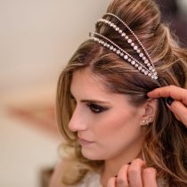 cabelo e maquiagem do dia das noivas