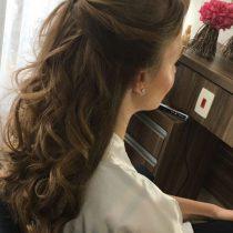 cabeleireiro para o dia da noiva