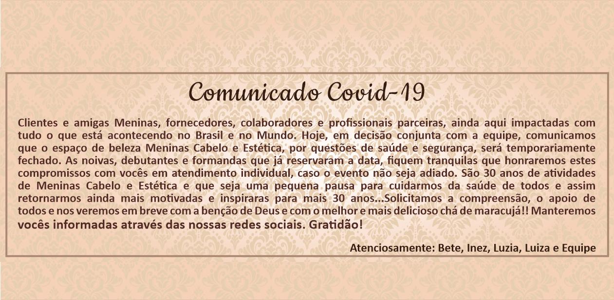 Comunicado- Covid